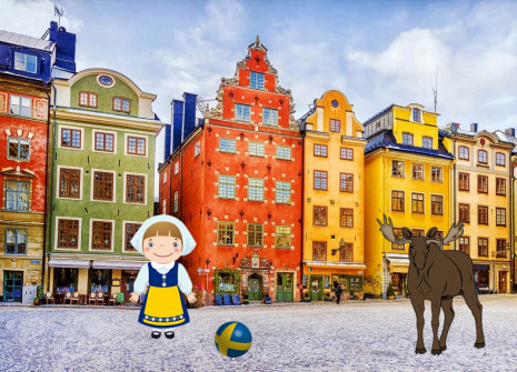 Get away from it all for the month of Sweden on HamsterStory!